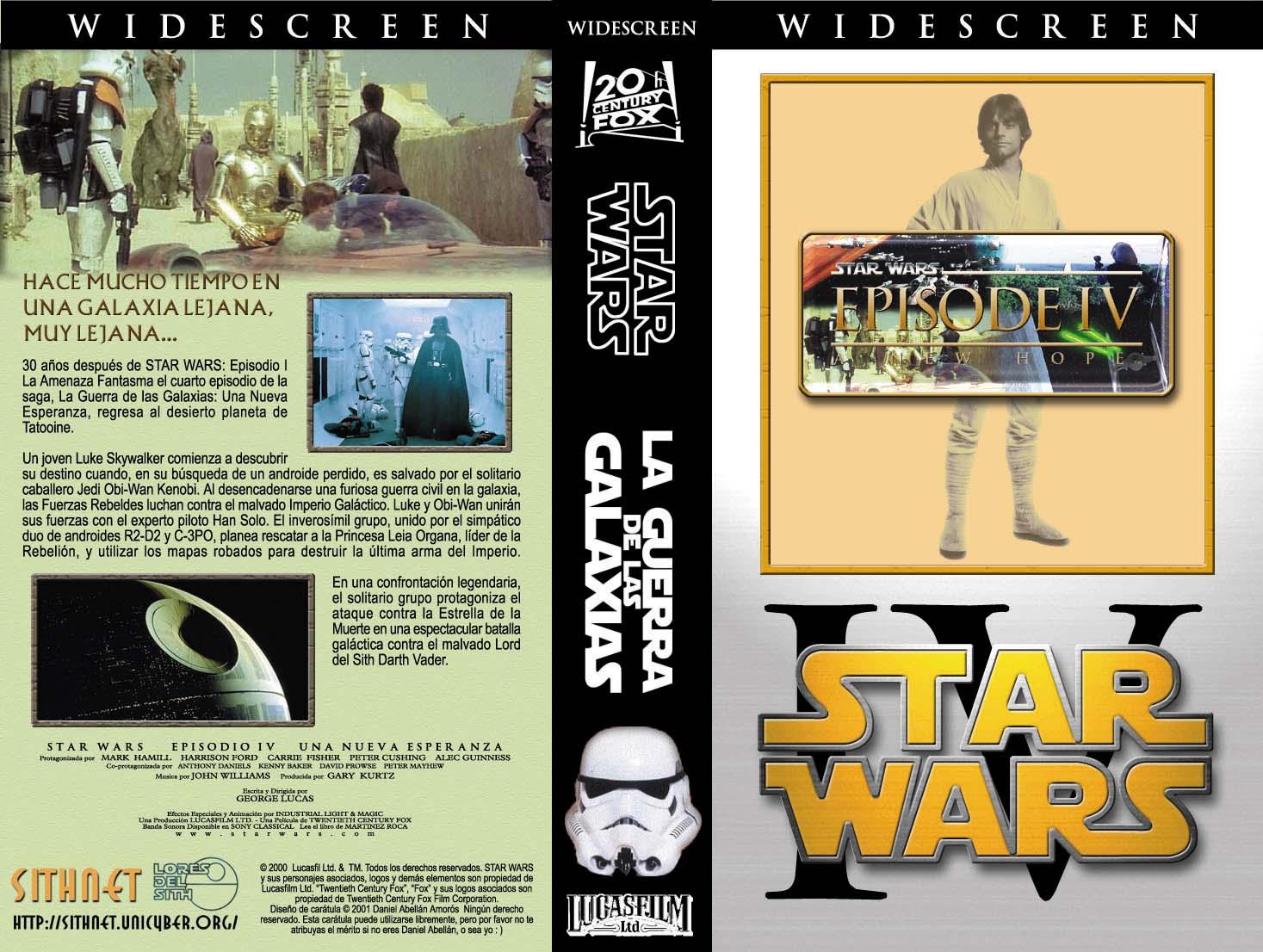 SithNET - Diario de los Whills - Carátulas para cintas de vídeo VHS