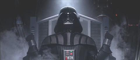 Anakin convertido en Darth Vader