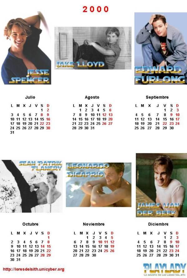 Calendario Julio Del 2000.Sithnet La Tasca De Mos Eisley Playjedi 01