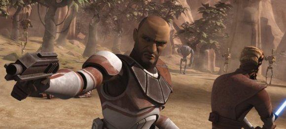 El maestro Ima-Gun Di lucha hombro con hombro con el capitán Keeli